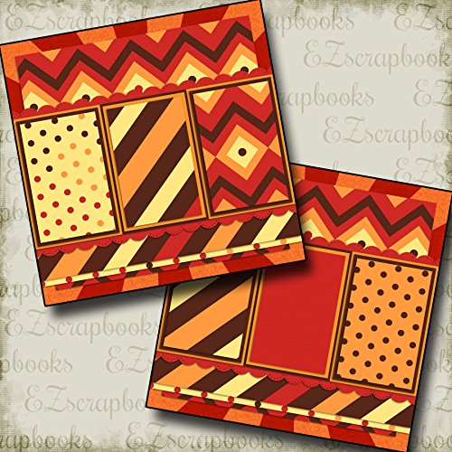 LION KING INSPIRED - Premade Scrapbook Pages - EZ Layout ()