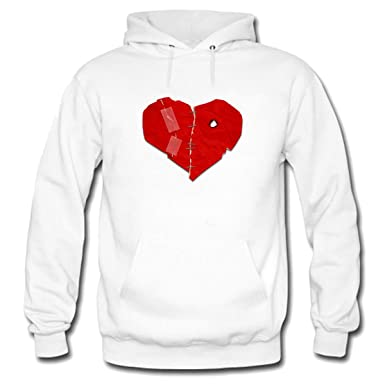 d2e5c1e7a546 Torn Heart Mens Pullover Hoodie Sweatshirt at Amazon Men s Clothing store