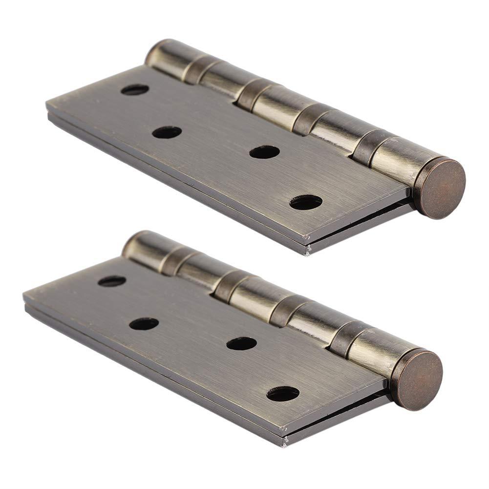 Charni/ères Inox /Épaisseur 3mm Paumelle pour Porte en bois Charni/ère /à Visser au Placard Lourd