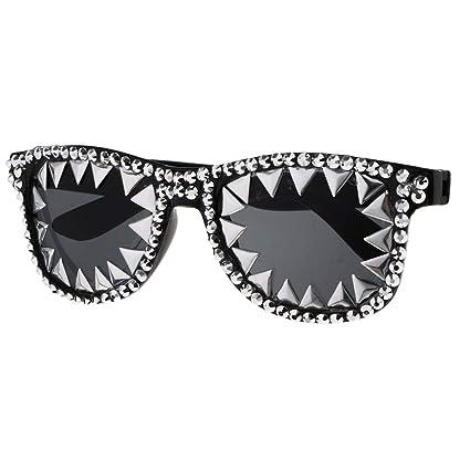 IPOTCH Gafas de Sol Gótico Punk Disfraces Geniales Props ...