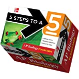 5 Steps to a 5 AP Biology Flashcards (5 Steps to a 5 on the Advanced Placement Examinations Series)