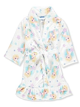2a9b691784 Amazon.com  Disney Girls  Frozen Elsa Luxe Plush Robe  Clothing
