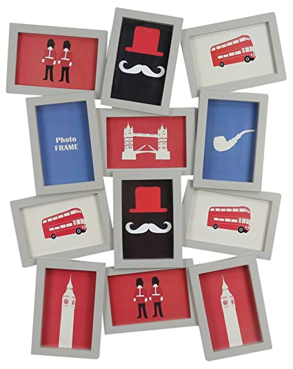 Buy @Home Cluster Plastic Collage Photo Frame (2.49 cm x 48.01 cm x ...