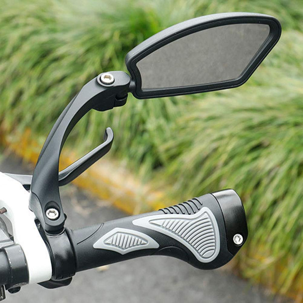 Sicherer R/ückspiegel HF-MR080L Zantec Universal-Edelstahl-Objektivlenker Fahrradspiegel