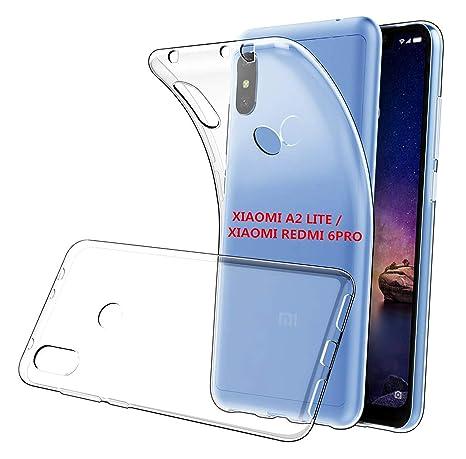 LUCKLYSTAR® Funda Xiaomi Mi A2 Lite - Smartphone de 5.84