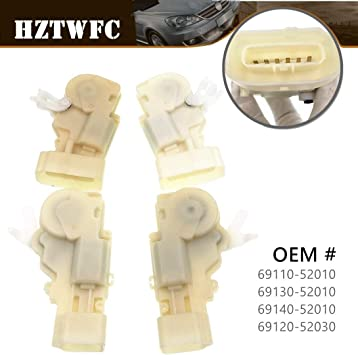 Amazon Com Hztwfc 4pcs Front Rear Left Right Door Lock Actuator Motor Compatible For Echo Yaris For Lexus Gs300 Gs430 Oem 69110 52010 69130 52010 69140 52010 69120 52030 Automotive