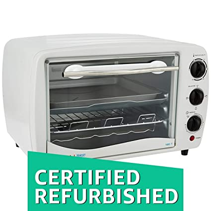 (Certified REFURBISHED) Bajaj 1603T 16-Litre Oven Toaster Grill (White)