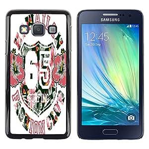 Dragon Case - FOR Samsung Galaxy A3 - Life is a journey - Caja protectora de pl??stico duro de la cubierta Dise?¡Ào Slim Fit