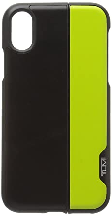 buy online b26fd 94cb9 Tumi Horizontal Slider iPhone X, Black/Citron