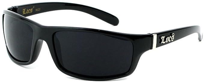 Moda Locs Gafas de sol Negro saco Fly je5209b: Amazon.es ...