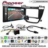 Pioneeer AVIC-6201NEX Double Din Radio Install Kit with GPS Navigation Apple CarPlay Android Auto Fits 2011-2013 Buick Regal (Black)