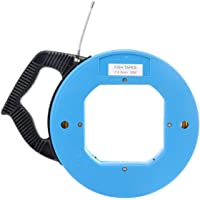 BloomerangBlue Cable Puller Fiberglass Wire Reusable Electrical Fish Tape 30Meters