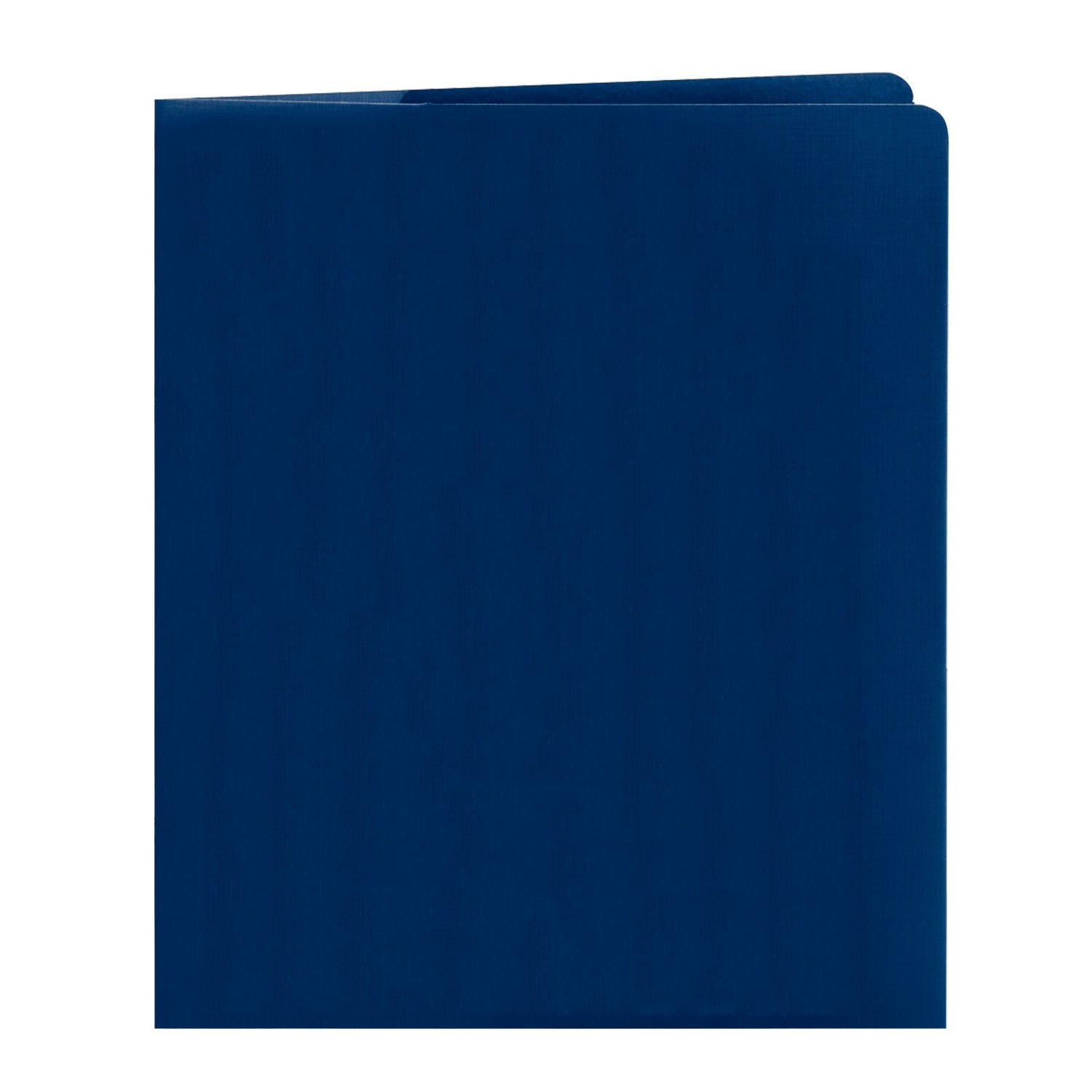 Generic File Folder, Up to 50 Sheets, Letter Size, Dark Blue