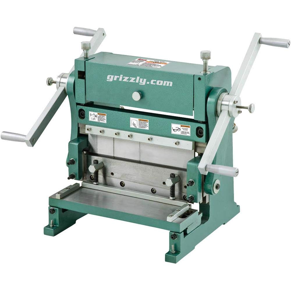 Grizzly T26472Z 3-in-1 Sheet Metal Machine 12''