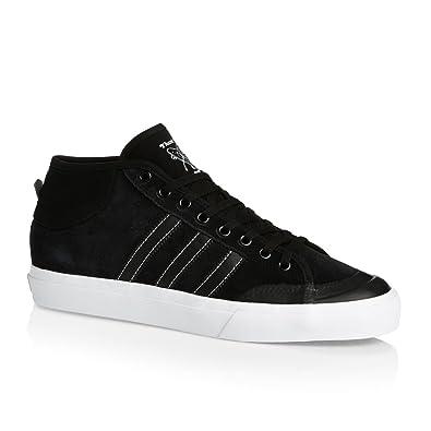 competitive price ca4e7 00420 adidas Matchcourt Mid, Scarpe da Skateboard Uomo, Nero NegbasFtwbla, 48 2