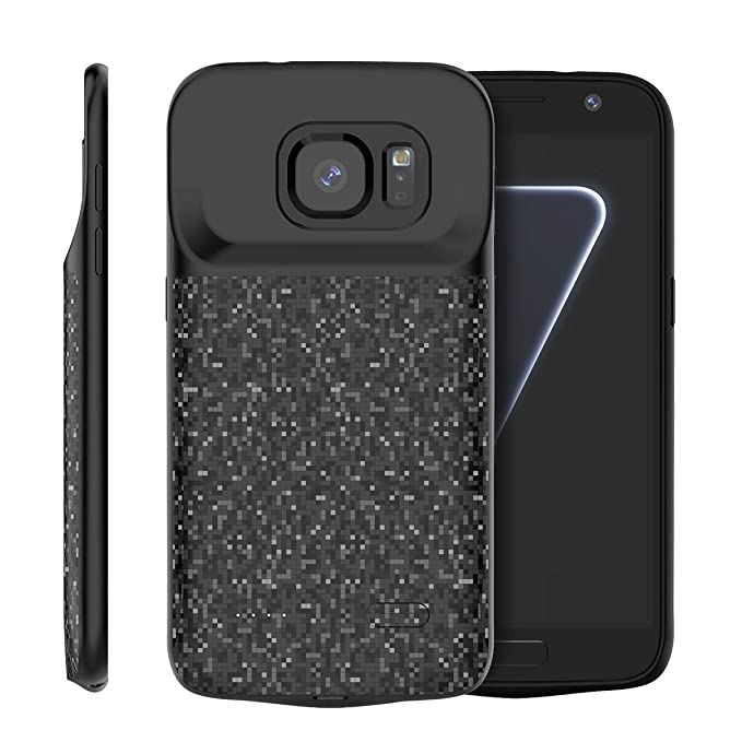 Samsung Galaxy S7 Funda Batería, 4700mAh Recargable Externa ...