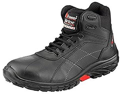 U-POWER scurogrip scuro agarre de seguridad negro Protector de botas de trabajo excursionista,