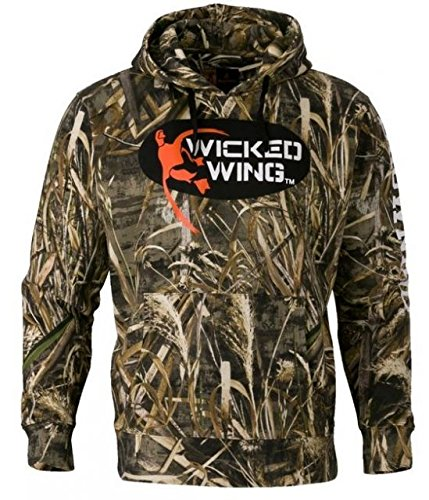 Browning 3016177603 Wicked Wing Hoodie, Realtree Max 5, - Wicked Wing