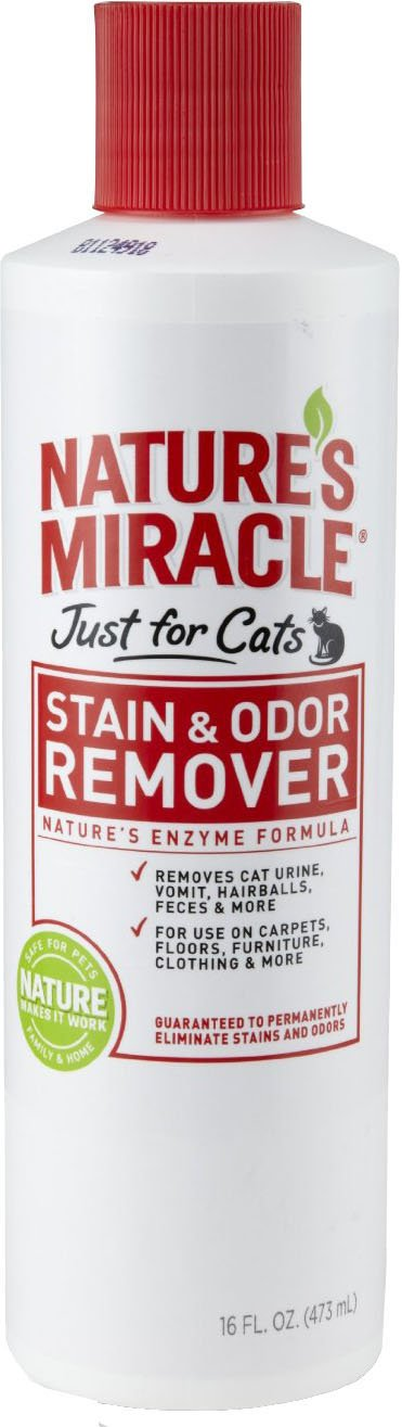 Nature's Miracle Stain & Odor Removers - 16 oz Bottle