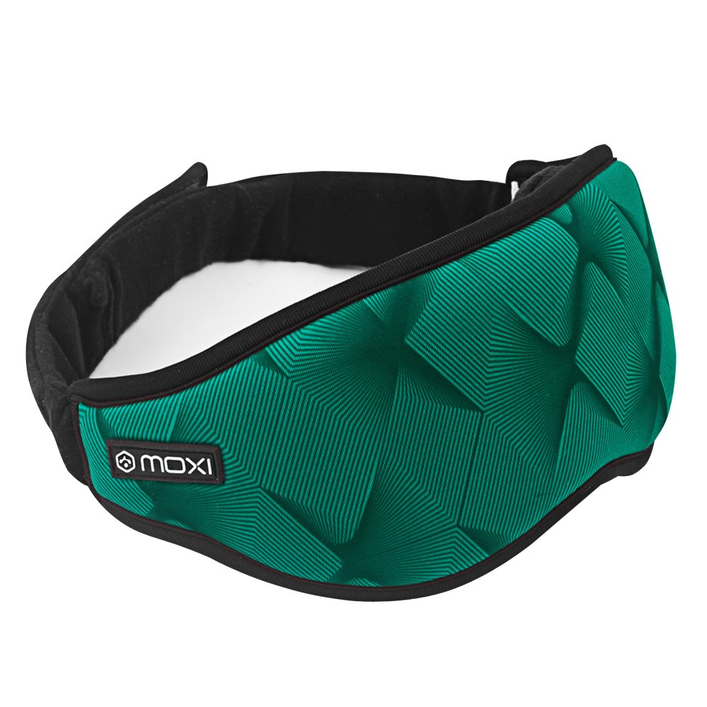 Far Infrared Electric Eye Mask with Innovative Graphene Heating Material Plus Power Bank&Carry Pouch, Great for Travel, Shift Work &Meditation(Green)