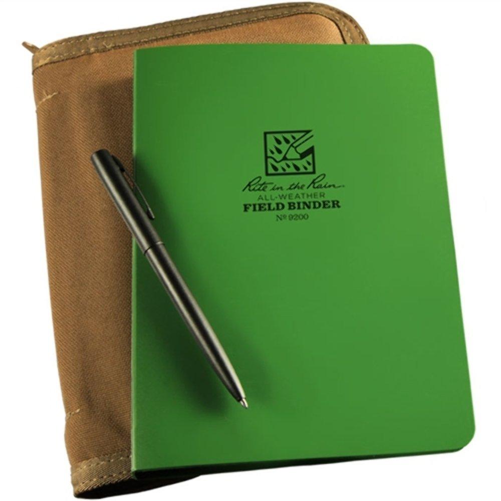 Rite In The Rain Binder Kit - Variety - Green #9201-KIT