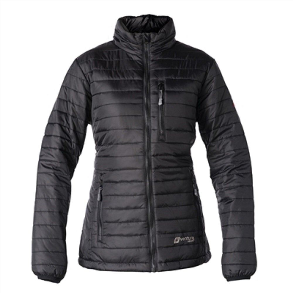 VentureHeat 5V USB Heat Women's Heated Insulate Jacket (Black, X-Large)
