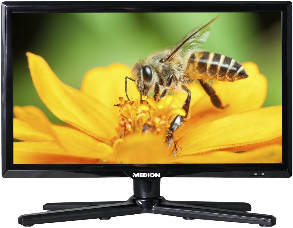 HD, Triple Tuner, DVD-Player, LCD-TV MEDION Life P12308 39,6 cm Fernseher 15,6 Zoll