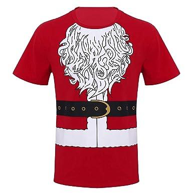 iiniim Camiseta de Navidad Fiesta para Hombre Chico Uniforme ...
