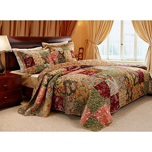 Greenland Home Fashions Antique Chic Quilted Shams (Set of 2) by Greenland Home Fashions