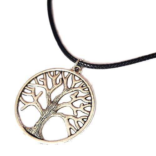Unisex Collar Símbolo De árbol De La Vida Y Cazador De Sueños