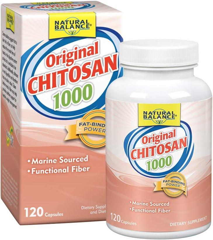 Natural Balance Chitosan Capsules, 120 Count