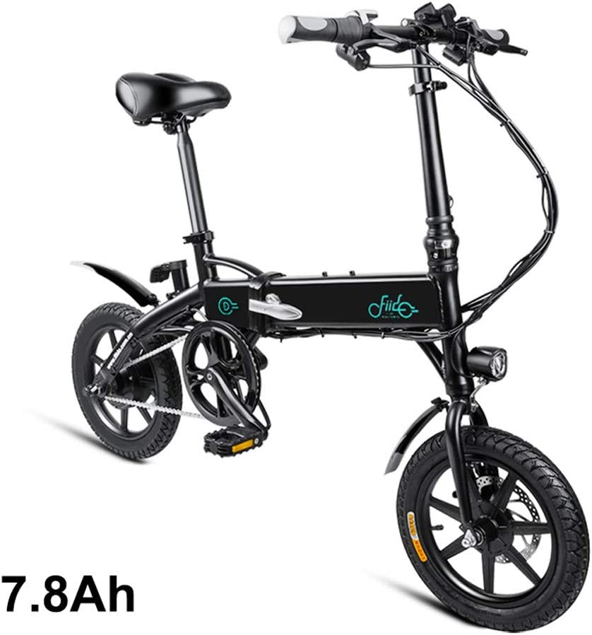 Leobtain Foldable Electric Bike,1 Pcs Electric Folding Bike ...