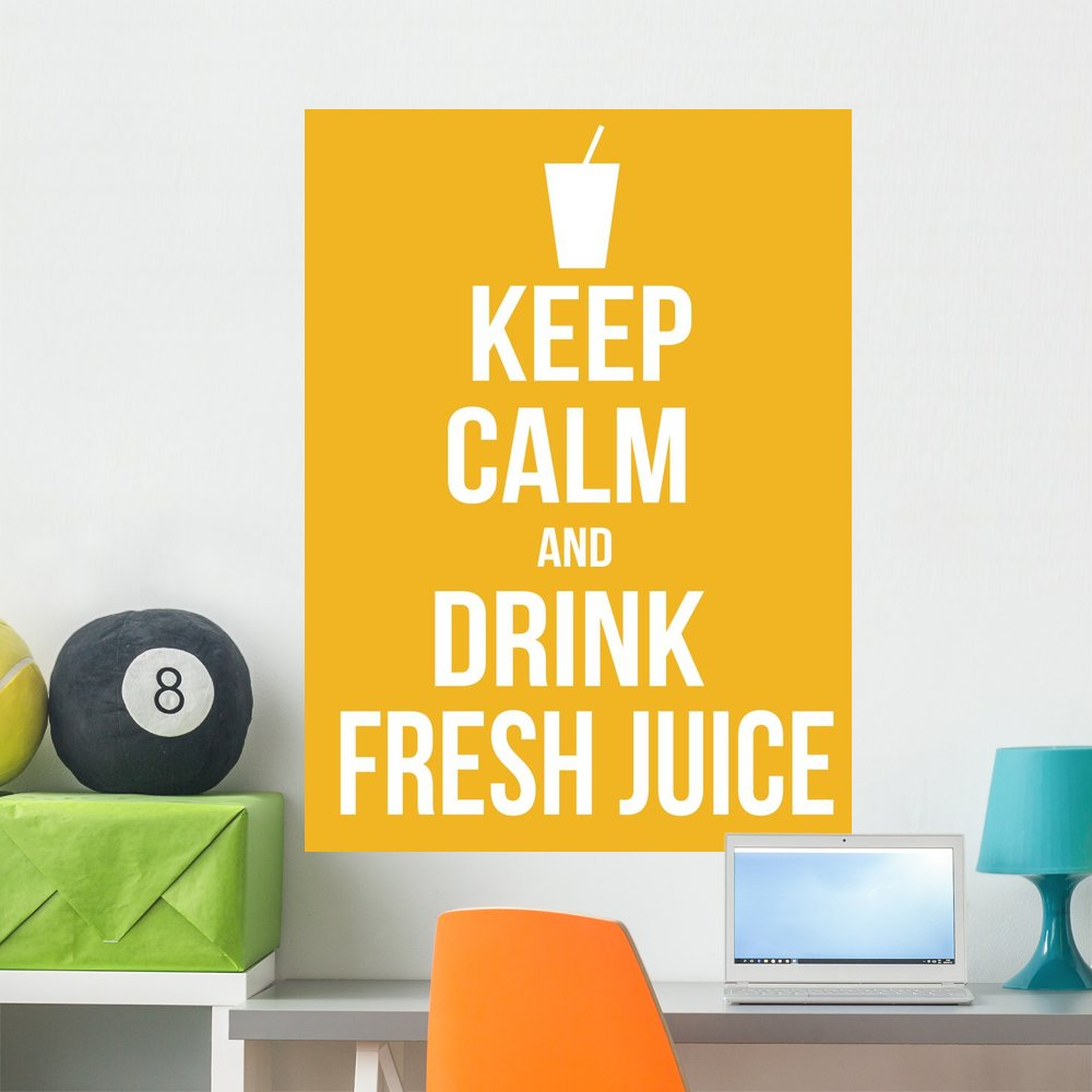 Amazon.com: Keep Calm and Drink Wall Mural by Wallmonkeys Peel and ...