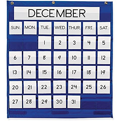 Pacon - Monthly Calendar Pocket Chart, 25