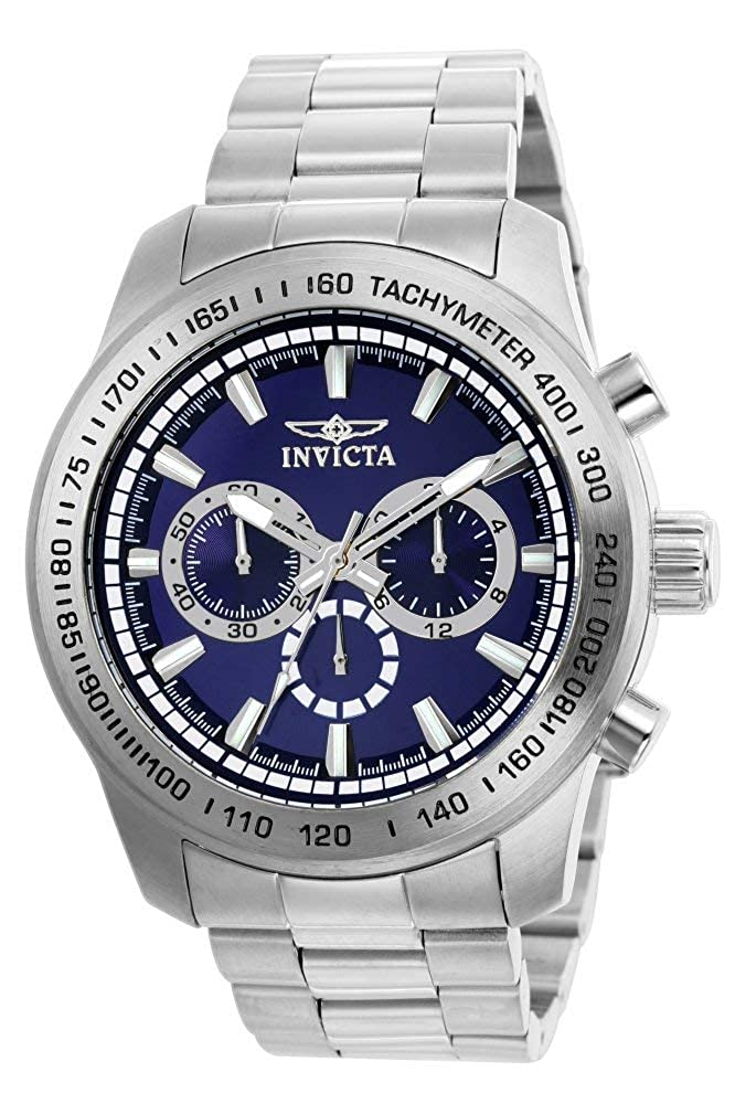 Invicta Men s Speedway Quartz Stainless Steel Casual Watch Model 21795