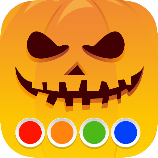 Coloring Book - Halloween -