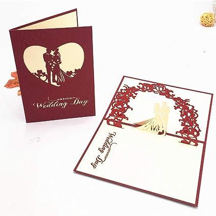 Tarjeta de boda Tarjetas de felicitación boda Tarjetas con ...