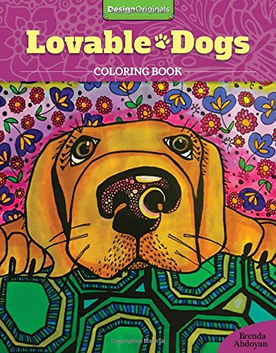 [Lovable Dogs Coloring Book] (Halloween Costumes For Dogs Uk)