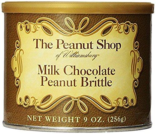 The Peanut Shop Milk Chocolate Brittle - 9 Oz. Can