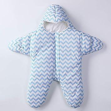 CRTE Bebé Saco de Dormir de Dibujos Animados Estrella, Super cómodo Anti-Patadas recién Nacido Sacos Swaddle Manta, 100% algodón,Blue,S: Amazon.es: Deportes ...