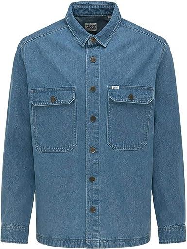 Lee Workwear Camisa de Lana para Hombre