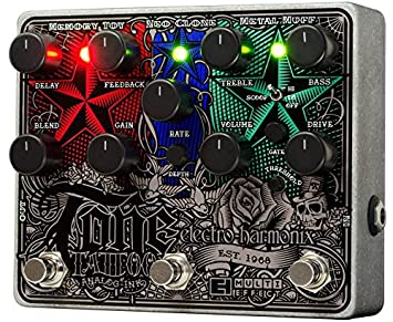 Electro Harmonix 665217 efecto de guitarra eléctrica con sintetizador Filtro Tone Tattoo: Amazon.es: Instrumentos musicales