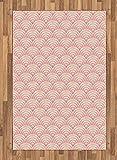 Light Pink Area Rug by Lunarab