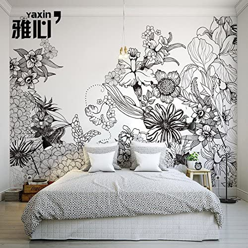 Hanhuan Art Déco Fresque 3d Papier Peint Wallpaper