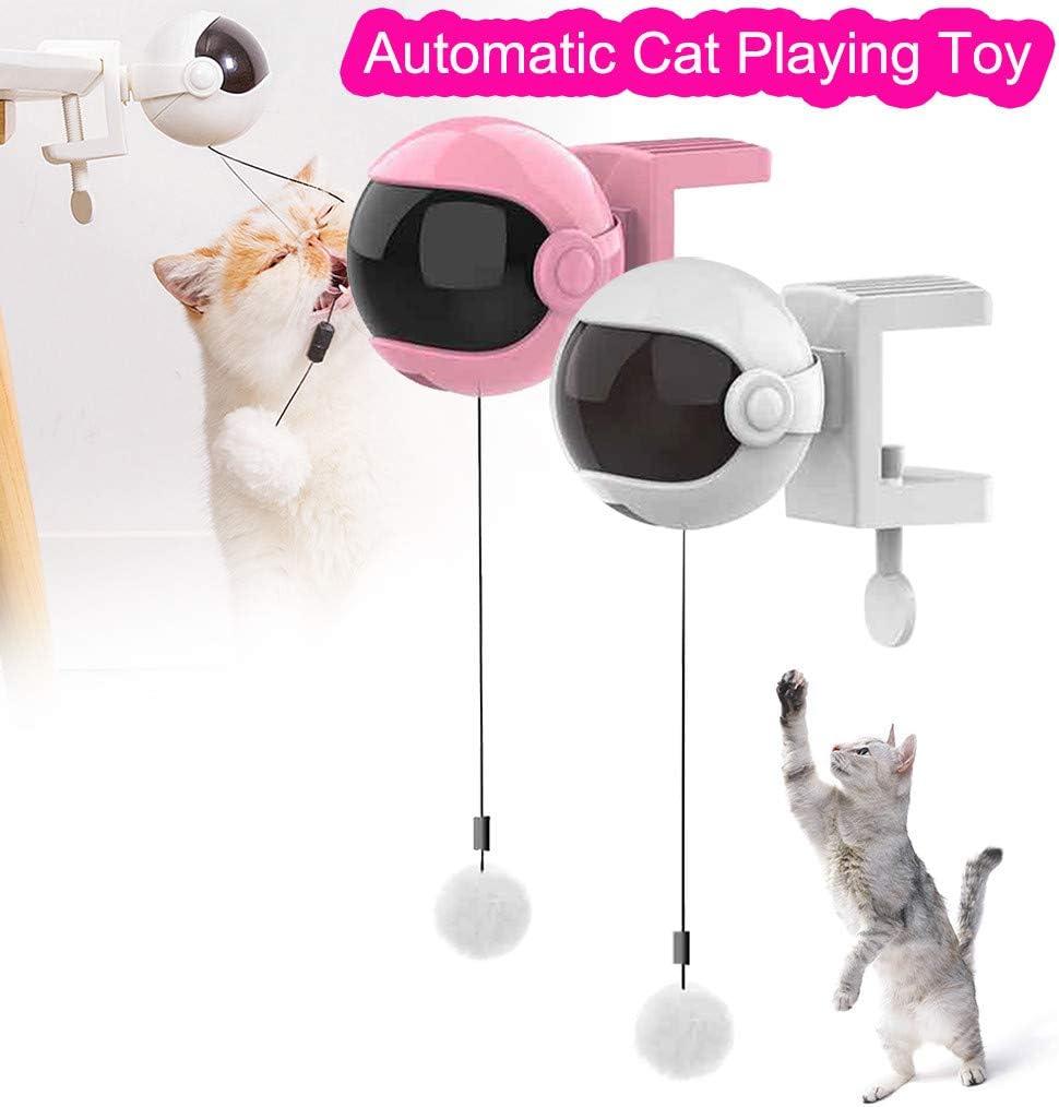 Juguete Divertido para Gatos Yusell Lift Ball, Juguete eléctrico ...