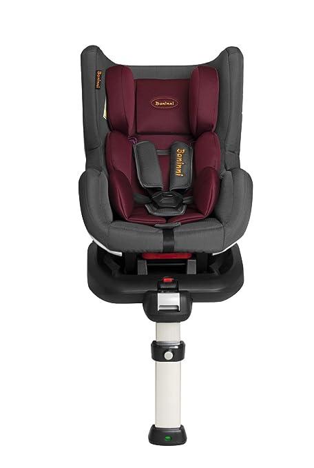 baninni Impero Isofix bn3501 asiento auto rojo/gris: Amazon ...