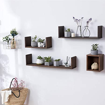 INMAN HOME Wooden Wall Shelves