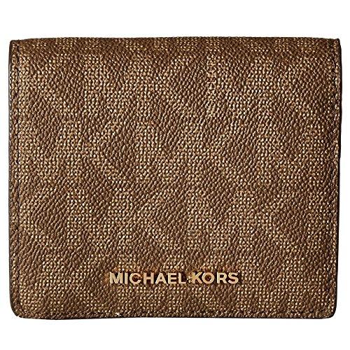 MICHAEL Michael Kors Women's Jet Set Travel Carryall Card Case Mocha - Michael Kors Online Usa