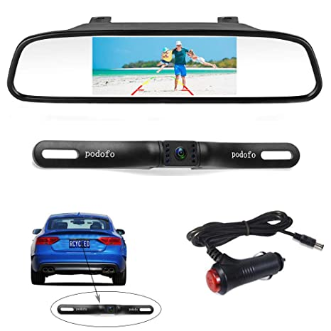 Vehicle Electronics & Gps Careful 7 Led Night Vision Car Rear View Reverse Backup Parking Camera Cmos Waterproof Rear View Monitors/cams & Kits