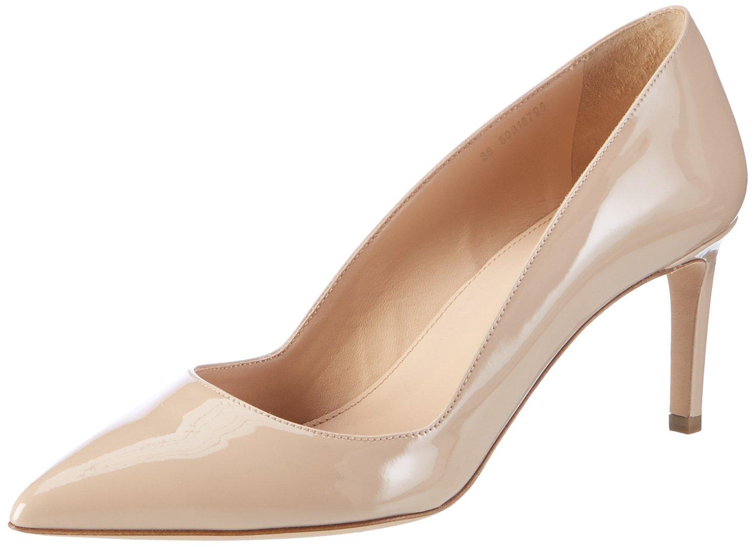 Hugo Hellia-p, Zapatos de Tacón Para Mujer 41 EU|Beige (Light Beige 270)